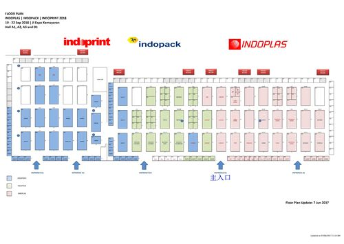 Attend Indoplas2018 in Jarkata Indonesia at 19th-22nd Sept. 2018