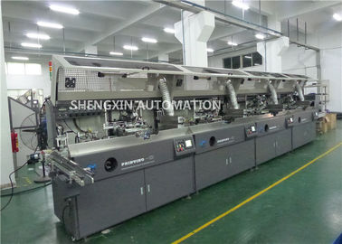 China Round Surface Screen Print Machine 4000Pcs / Hr With Visual Detection supplier