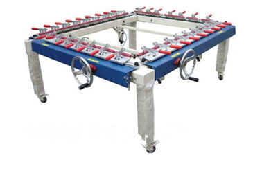 China High Precision Auxiliary Equipment Mechanical Screen Tension Machine supplier