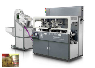 China Industrial Multicolor Cosmetic Screen Printing Machine Chain - Type supplier