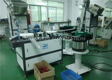 China Fully Automated Assembly Machine Flexible For Drinking Bottle Lid / Cap factory