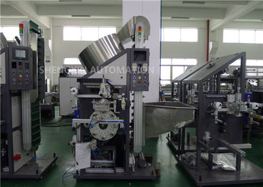 China Cap Auto Stamp Machine , Cylinder Hot Foil Plastic Stamping Machine factory