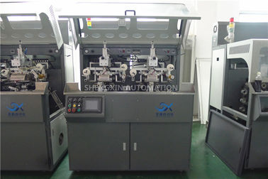 China Multicolor Continuous Hot Foil Plastic Stamping Machine Side Wall factory