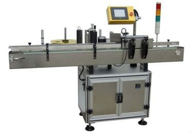 China Sticker Electric Automatic Labeling Machine 580W For Small Round Oval Bottles factory