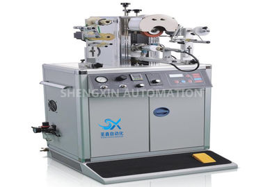 China Plastic Manual Heat Transfer Printing Machine Rotary Letterpress Structure factory
