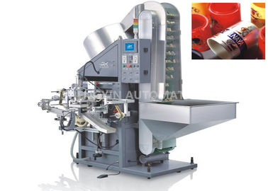 China Single Color Automatic Hot Foil Stamping Machine Plastic / Metaltube Printing factory