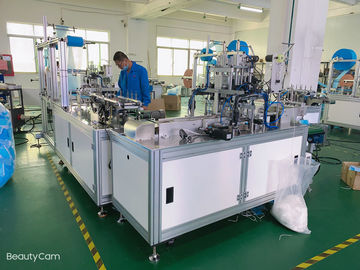 Disposable Surgical Face Mask Making Machine Touch Screen Operation