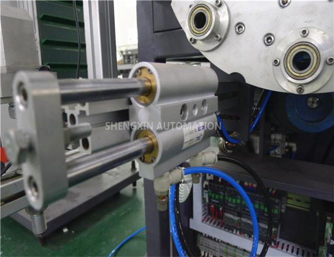 Cap Hot Foil Stamping Machine , Plastic / Metal Stamper Machine